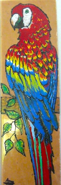 Parrot On a Tile