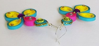 Quilling Earrings - 1