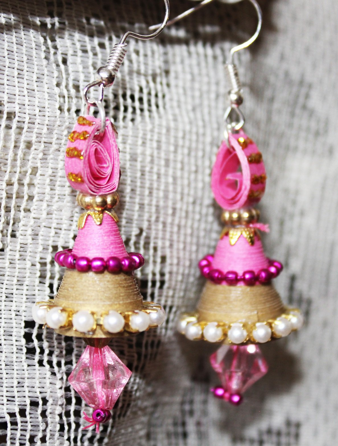 Quilling Earrings - 12