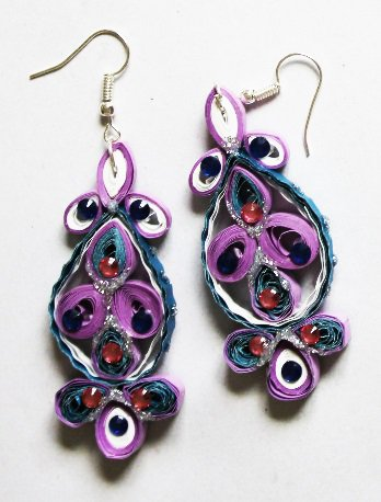 Quilling Earrings - 13