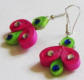 Quilling Earrings - 3