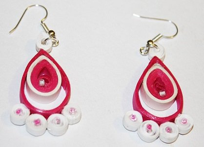Quilling Earrings - 4