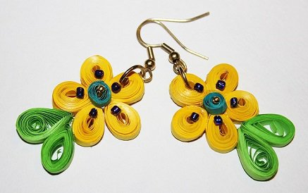 Quilling Earrings - 6