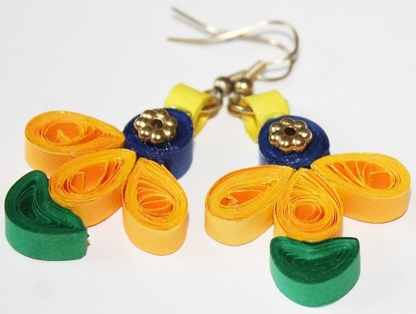 Quilling Earrings - 8