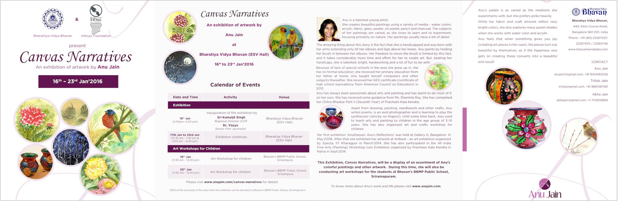 Paper Invitation - Canvas Narratives'2016